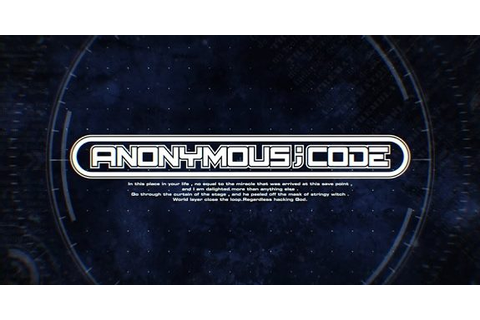 "[Ufficiale] Anonymous; Code | La serie ""Science Visual ..."