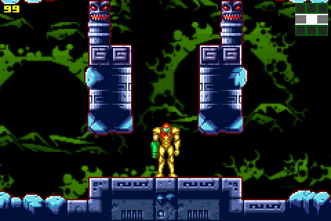 Metroid: Zero Mission (2004) by Nintendo GBA game