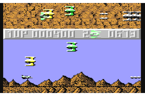 Sanxion (1986) by Thalamus C64 game