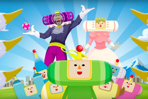 Katamari Damacy's storyline is not what you think it is ...