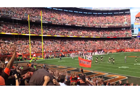 Cleveland Browns Game Winning Field Goal - YouTube