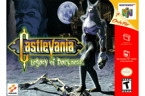 Castlevania Legacy of Darkness Nintendo 64 Game