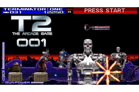 T2 The Arcade Game #001 [FULL HD+] - Skynet´s Herrschaft ...