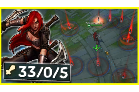 "THE ""PERFECT"" URF KATARINA GAME 