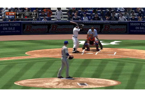 MLB 15 The Show Yankees vs Mets Gameplay (PS4) - YouTube