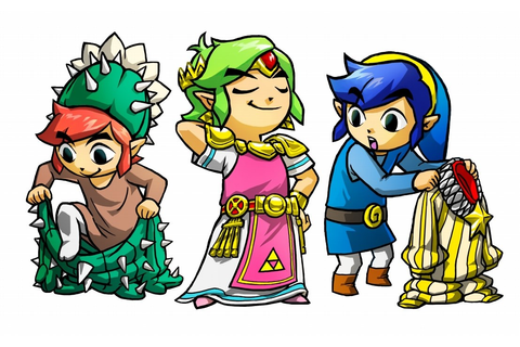 The Legend of Zelda: Tri Force Heroes Review | My Nintendo ...