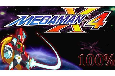 Mega Man X4 [ZERO] - Walkthrough 100% [HD] - YouTube