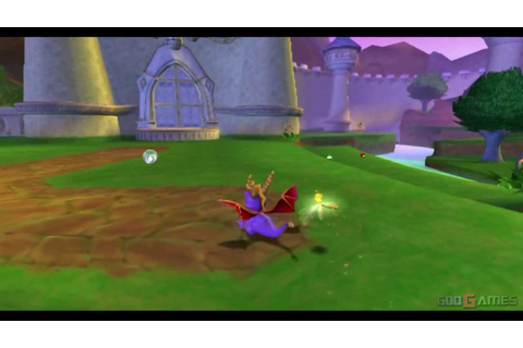 Spyro: Enter the Dragonfly - Gameplay PS2 (PS2 Games on ...