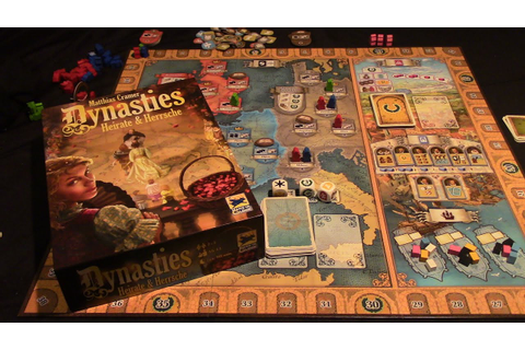 Jeremy Reviews It... - Dynasties Board Game Review - YouTube