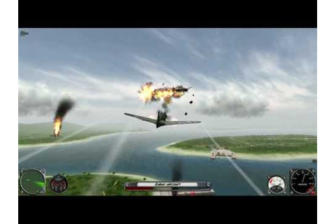Attack On Pearl Harbor gameplay mission 1 US Campaign ...