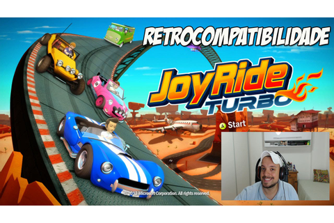 XBOX ONE - JOY RIDE TURBO GAMEPLAY (RETROCOMPATIBILIDADE ...
