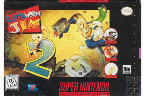 Earthworm Jim 2 SNES