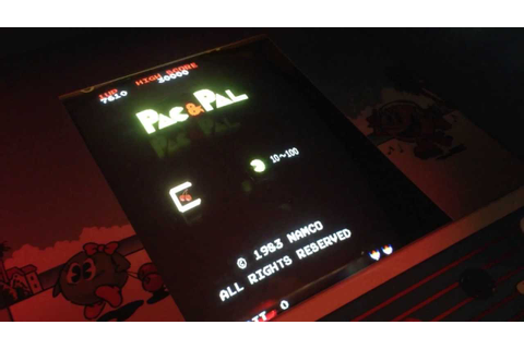 Arcade Hunters Review: Namco's Pac & Pal - YouTube
