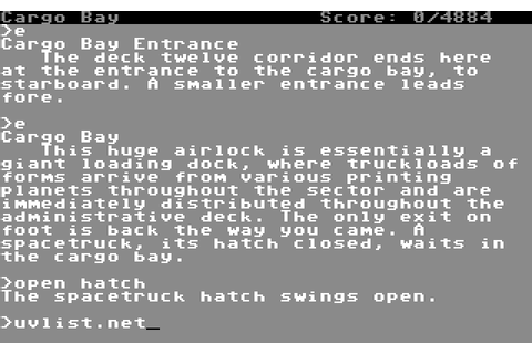 Stationfall (1987) by Infocom C64 game
