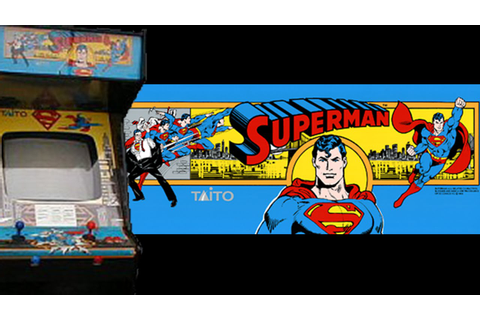 Superman Arcade (1988) Playthrough! - YouTube