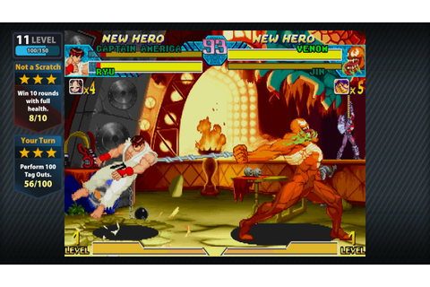 Return To The Arcade With Marvel Vs. Capcom Origins ...