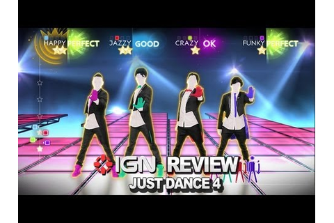 Just Dance 4 Video Review - IGN Reviews - YouTube