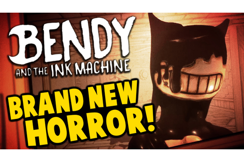 Bendy and the Ink Machine - NEW HORROR GAME! Disney Gone ...