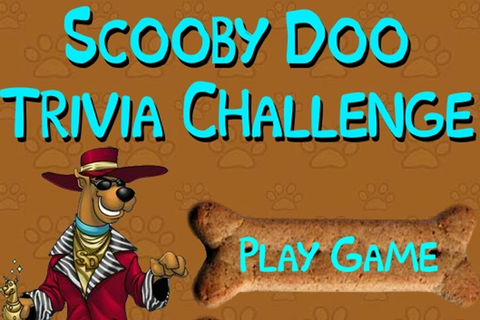 Scooby Doo Trivia Game - Scooby Doo games - Games Loon