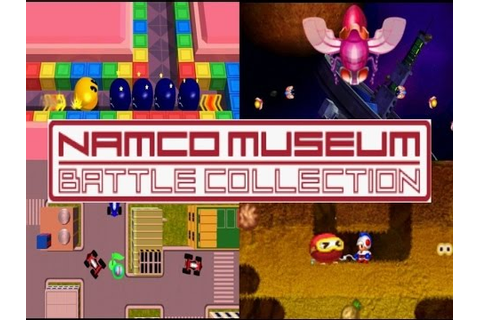 Namco Museum Battle Collection | COMPILATION OF CLASSICS ...