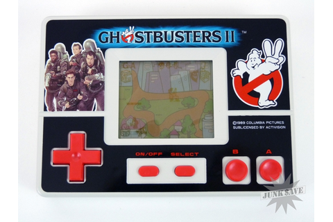 Ghostbusters 2 LCD Handheld Game Nes Controller Design ...