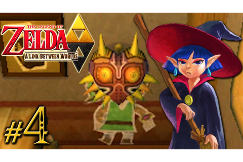 The Legend of Zelda: A Link Between Worlds - Witch Way ...