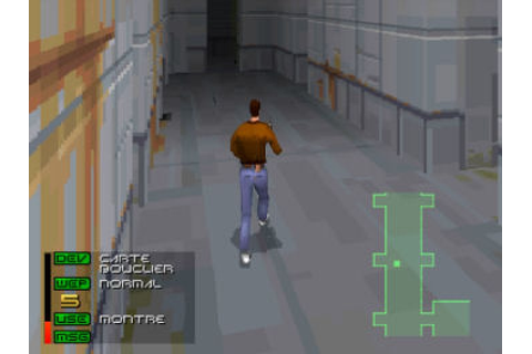 Fade to Black (1996) by Delphine PS game