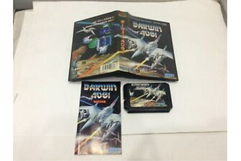 Darwin 4081 Mega Drive Sega Import Japan Game MegaDrive md ...