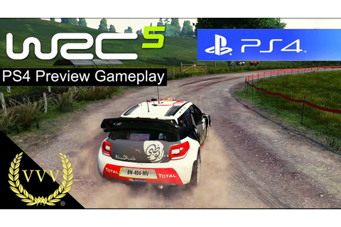 WRC 5 PS4 Gameplay Preview - YouTube