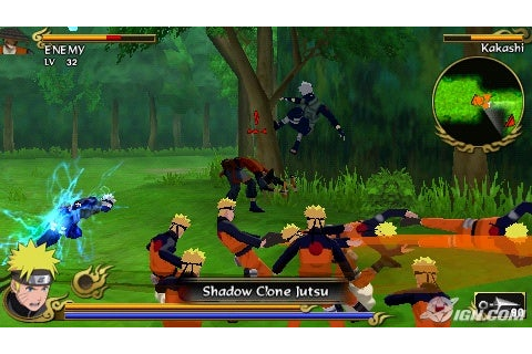 Naruto Shippuden: Legends: Akatsuki Rising Review - IGN