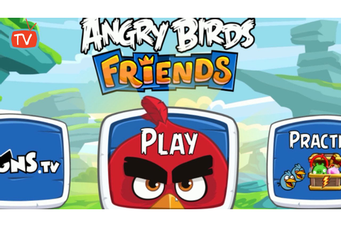 ANGRY BIRDS FRIENDS | Angry Birds Movie Tournament | Angry ...