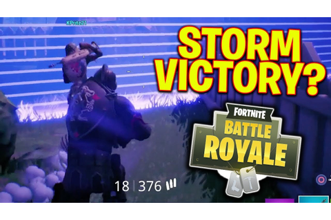 Game Winning Fight In The Storm?! Fortnite Battle Royale ...