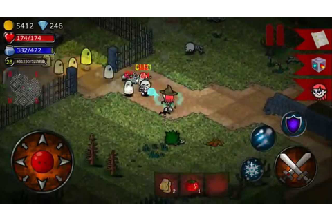 Slashin' official trailer IOS mobile game RPG hack'n'slash ...