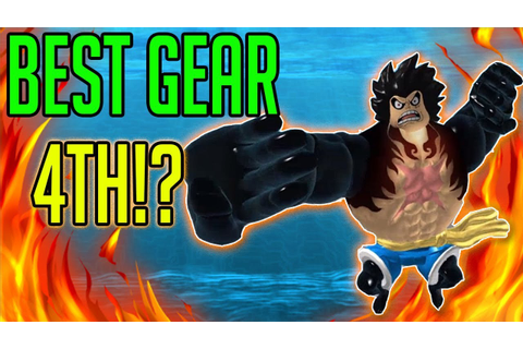 GRAND PIECE ONLINE | GEAR 4TH SHOWCASE | NEW UPCOMING ONE ...