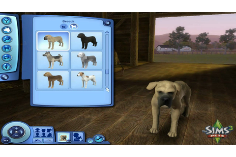 Sims 3: Pets - Create a Pet Demo (Part 1) - YouTube