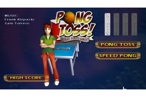Water Front - Pong Toss Frat Party Games WiiWare OST - YouTube