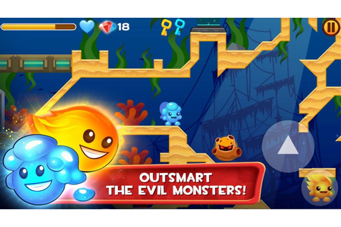 Fire and Ice Ultra HD - Pc Windows Platformer Puzzle Games ...