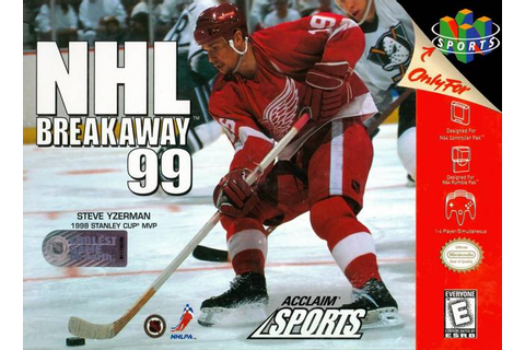 NHL Breakaway '99 Nintendo 64 Game