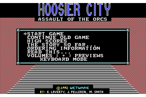 Download Hoosier City | DOS Games Archive
