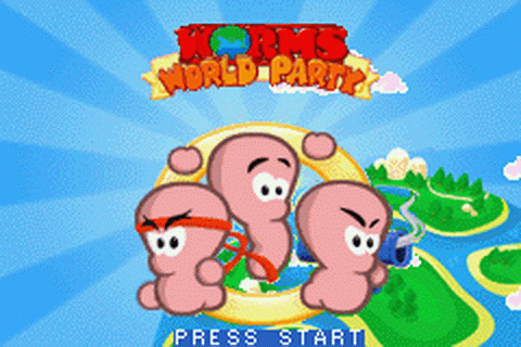 Play Worms World Party Nintendo Game Boy Advance online ...