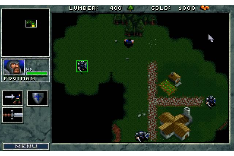 Download Warcraft: Orcs and Humans strategy for DOS (1994 ...
