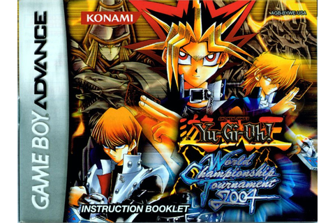 Yu-Gi-Oh! - World Championship Tournament 2004 (Europe ...