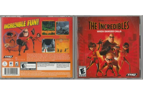 The Incredibles - When Danger Calls (PC game) 2004 for ...