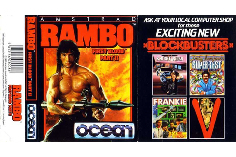 Rambo: First Blood Part II | Top 80's Games