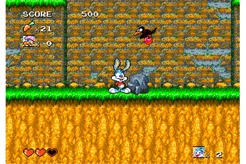 Tiny Toon Adventures - Buster's Hidden Treasure (USA) ROM
