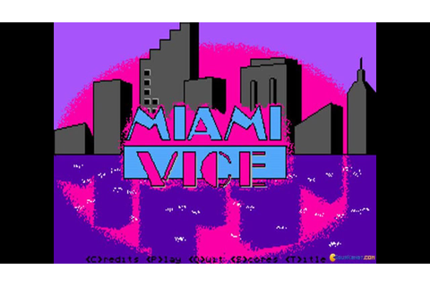 Miami Vice gameplay (PC Game, 1989) - YouTube