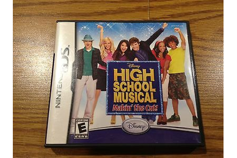 ** High School Musical: Makin' the Cut (Nintendo, Advance ...