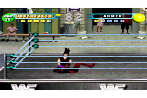 WWF in Your House Gameplay with The undertaker (PSX,PsOne ...