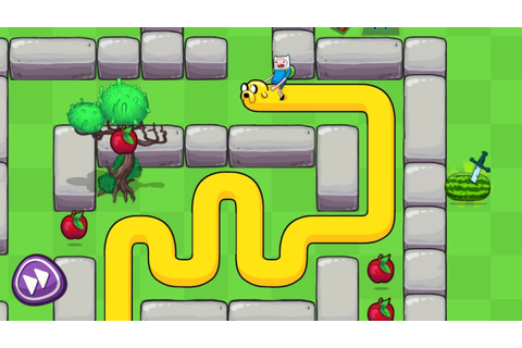 Treasure Fetch - Adventure Time Snake Game App for Kids by ...