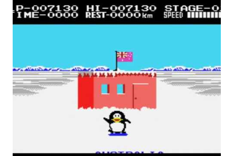 Weird Video Games - Antarctic Adventure (MSX) - YouTube